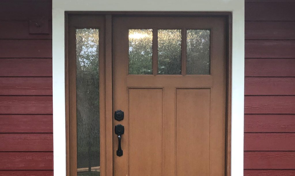Energy-Efficient Door