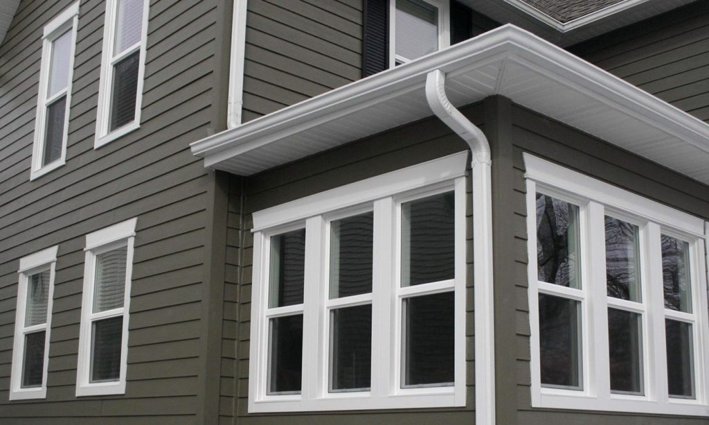 Hardie Planks with Energy-Efficient Windows